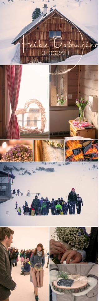 Hochzeit im Dachsteingebirge